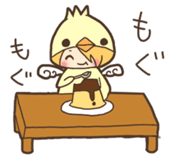 Duck-kun and Chick-kun sticker #1694622