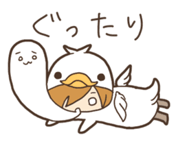 Duck-kun and Chick-kun sticker #1694627