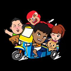 Buakaw & Friends : Happy Days
