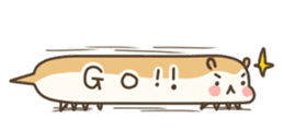 balloon Hamster(English ver) sticker #1696348