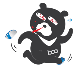 "Taiwan ""Hey"" Bear's Little Theater sticker #1698017"
