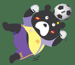 "Taiwan ""Hey"" Bear's Little Theater sticker #1698027"