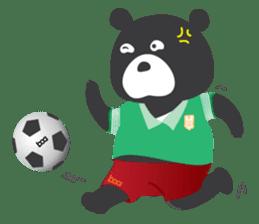 "Taiwan ""Hey"" Bear's Little Theater sticker #1698028"