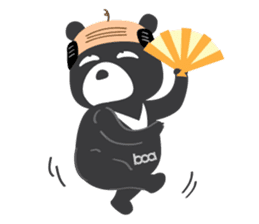 "Taiwan ""Hey"" Bear's Little Theater sticker #1698030"