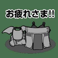 Kendo Club of tough guys sticker #1699023