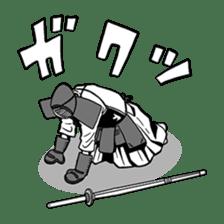 Kendo Club of tough guys sticker #1699043