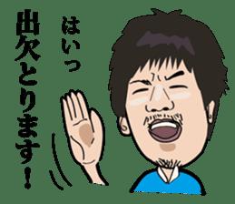 GOLFSticker REALfacevr. GOLFStickerpac sticker #1704858