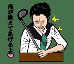 GOLFSticker REALfacevr. GOLFStickerpac sticker #1704861