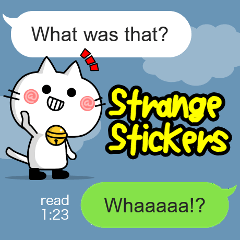 Strange Stickers(English)