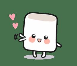 Lowy, the cute little white marshmallow sticker #1712505