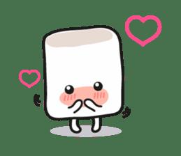 Lowy, the cute little white marshmallow sticker #1712507