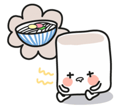 Lowy, the cute little white marshmallow sticker #1712516