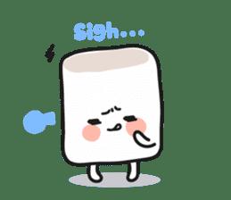 Lowy, the cute little white marshmallow sticker #1712518