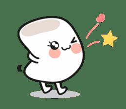 Lowy, the cute little white marshmallow sticker #1712521