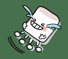Lowy, the cute little white marshmallow sticker #1712524