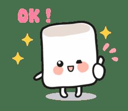 Lowy, the cute little white marshmallow sticker #1712525