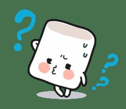 Lowy, the cute little white marshmallow sticker #1712526