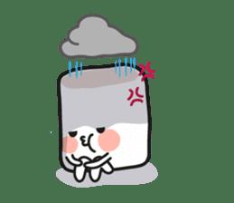Lowy, the cute little white marshmallow sticker #1712528