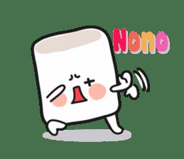 Lowy, the cute little white marshmallow sticker #1712530