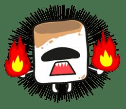 Lowy, the cute little white marshmallow sticker #1712532