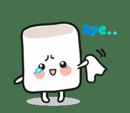 Lowy, the cute little white marshmallow sticker #1712533