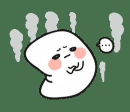 Lowy, the cute little white marshmallow sticker #1712534