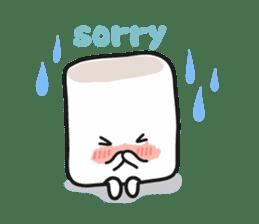 Lowy, the cute little white marshmallow sticker #1712536