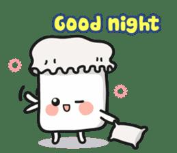 Lowy, the cute little white marshmallow sticker #1712537