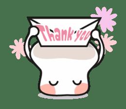 Lowy, the cute little white marshmallow sticker #1712538