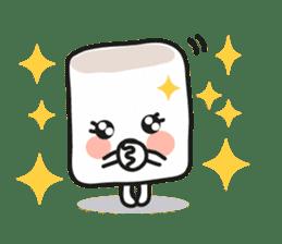 Lowy, the cute little white marshmallow sticker #1712540