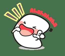Lowy, the cute little white marshmallow sticker #1712541