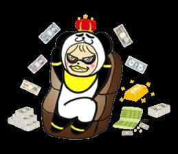 Costume Baby panda sticker #1716886
