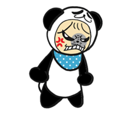Costume Baby panda sticker #1716899