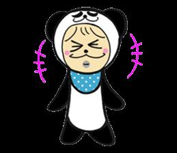 Costume Baby panda sticker #1716902