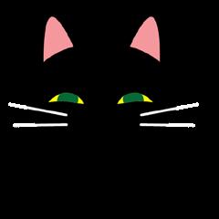 Black cat Kuronyan of Kishu