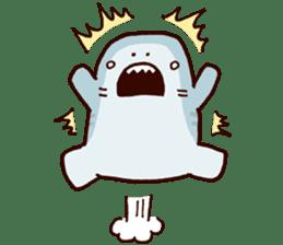 Shark men 2 sticker #1719719