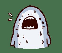 Shark men 2 sticker #1719726