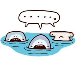 Shark men 2 sticker #1719734