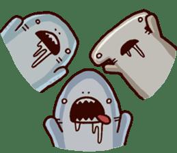 Shark men 2 sticker #1719736