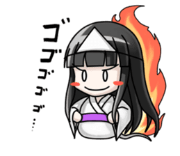 Japanese Ghost Girl sticker #1722486