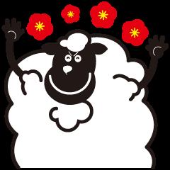 Black sheep-kun and White sheep-chan