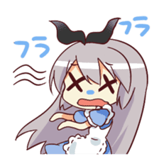 CUTE GIRL Alice sticker #1727818