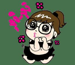 Me-kin by La Pluie sticker #1736994