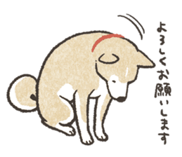 Shiba Inu (Shiba-Dog) stickers - vol.2 sticker #1738349