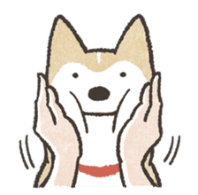 Shiba Inu (Shiba-Dog) stickers - vol.2 sticker #1738358