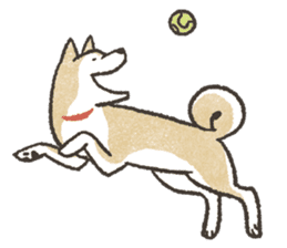 Shiba Inu (Shiba-Dog) stickers - vol.2 sticker #1738378