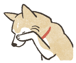 Shiba Inu (Shiba-Dog) stickers - vol.2 sticker #1738383