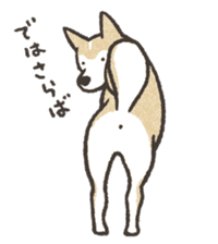 Shiba Inu (Shiba-Dog) stickers - vol.2 sticker #1738384