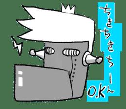 japanese big chin guy sticker #1741699