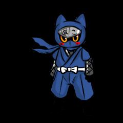 Ninja cat nekota salmon